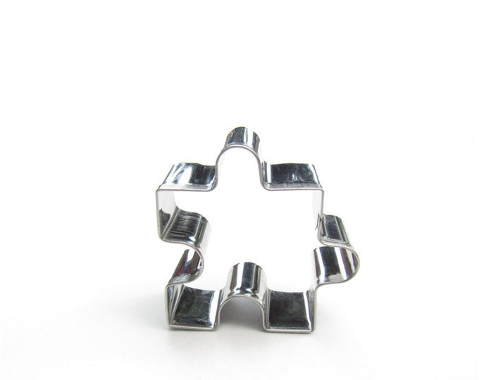 Puzzle Piece Cookie Cutter - Jigsaw Mold Party Biscuit Fondant Sugar Cutter