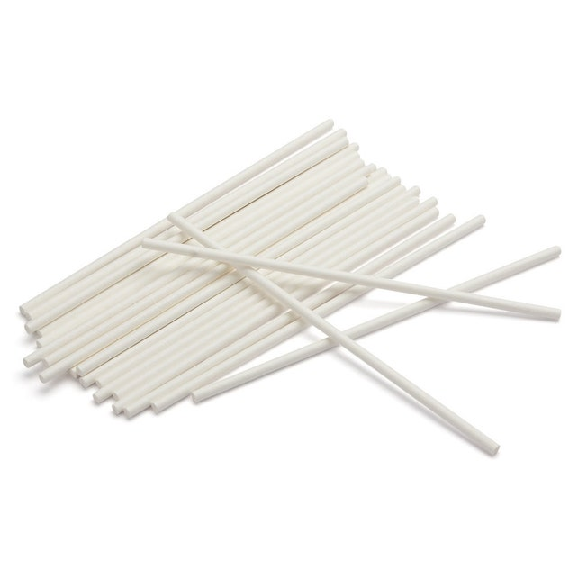 "50 4"" Lollipop Sticks - cake pops, candy bar, candy making"