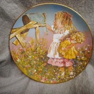 898110000 WOODY WOODPECKER 8 12 Vintage Collector Plate WOODY/'s Triple Self Portrait Walter Lantz No