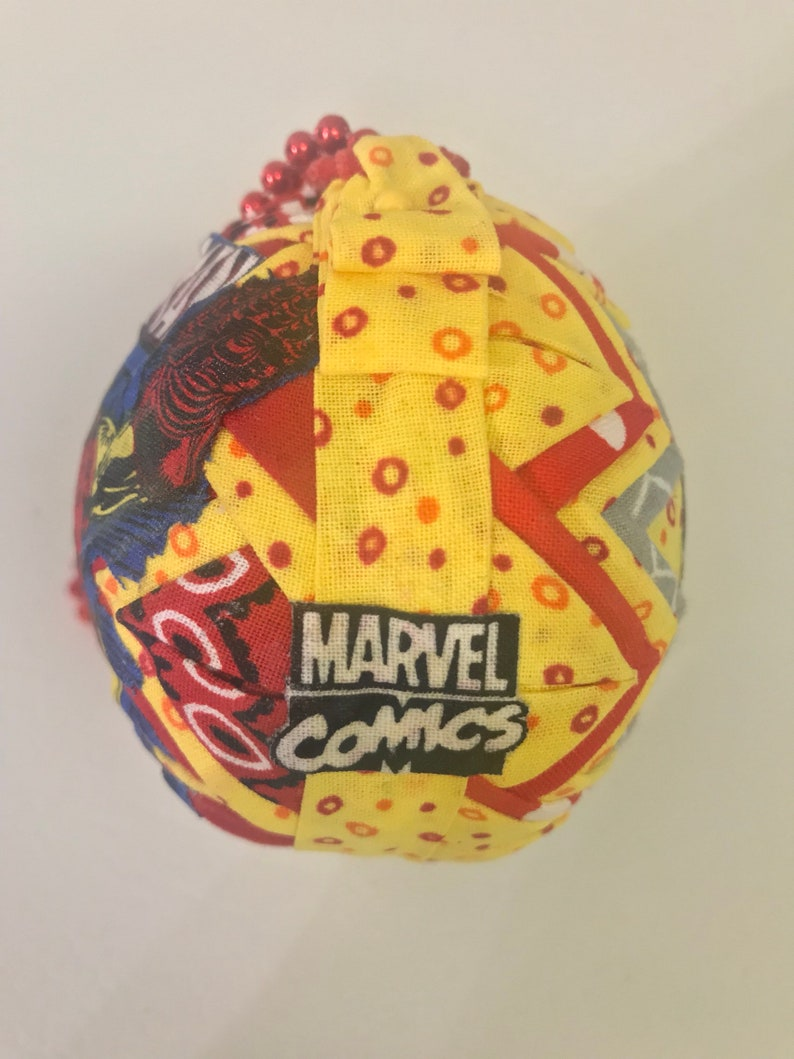 Ironman Lg Marvel Comics 3 Quilted Ornament