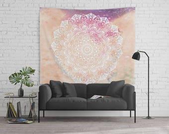 LEO CONSTELLATION MANDALA - Horoscope Bohemian Wall Tapestry