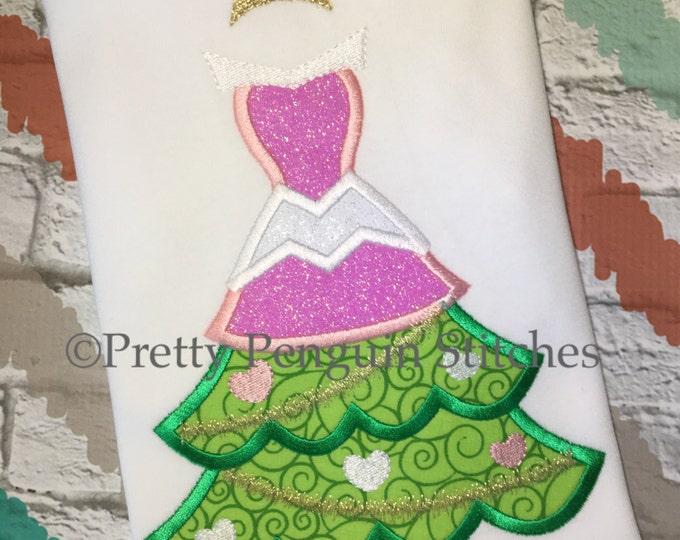 Princess Christmas Tree, Aurora-Inspired Christmas Tree, Sleeping Beauty, Very Mickey Christmas, Family Vacation, Appliqued