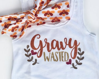 Girls Thanksgiving Outfit, Gravy Wasted, Baby Girl Thanksgiving, Thanksgiving Dress, Baby Girl Clothes, Fringe Dress, Thanksgiving Dress