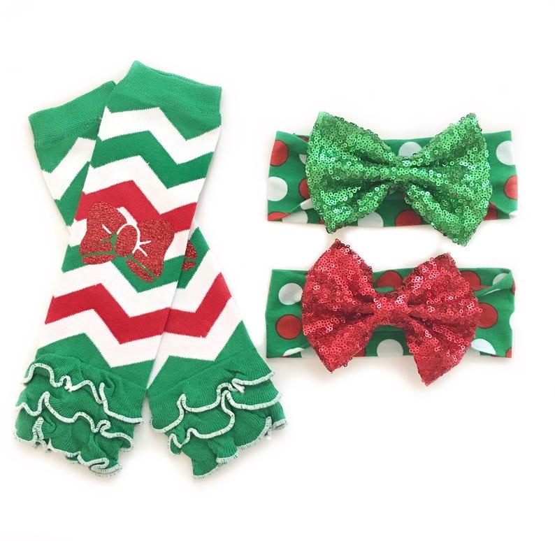 964db21066b8d7 Christmas Headband Christmas Leg Warmers Christmas Leggings | Etsy