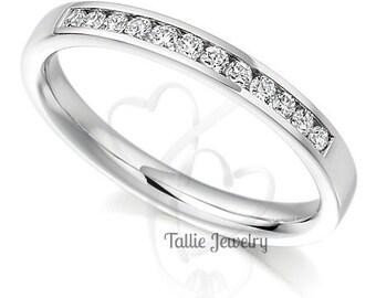 Diamond Eternity Bands, Diamond Eternity Rings, Diamond Eternity Wedding Bands, Thin Diamond Wedding Rings, Womens Diamond Wedding Bands