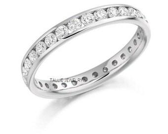 Platinum Diamond Eternity Wedding Bands, Platinum Diamond Eternity Wedding Rings,  Platinum Womens Diamond Wedding Bands
