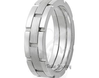 Platinum Wedding Ring for Men & Women