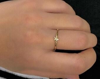 14K Gold Womens Rings