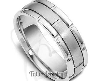 Platinum Wedding Rings, Platinum Wedding Bands, Platinum Ring for Mens & Women