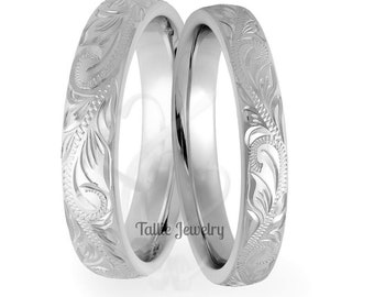 Platinum His&Hers Rings