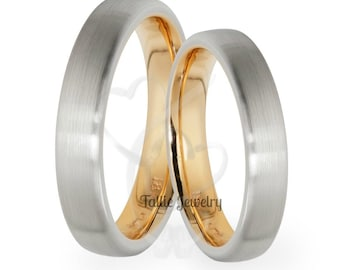 10K His and Hers Bands