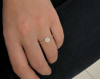 14K Gold Womens Rings
