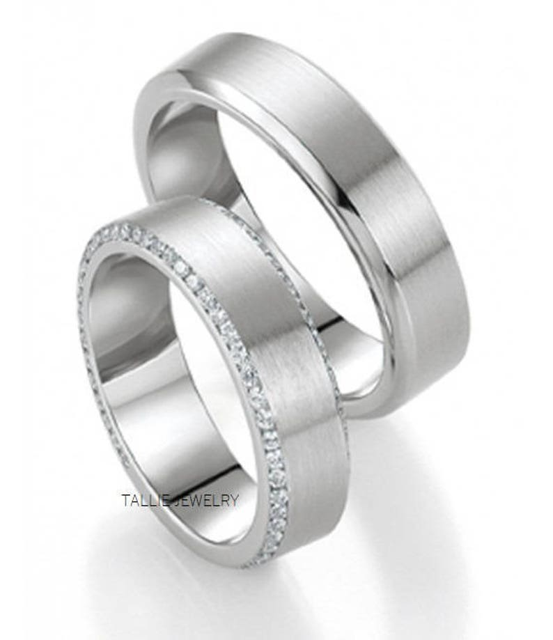 His And Hers Matching Wedding Bands Cheap.Platinum Matching Wedding Bands His Hers Wedding Rings Platinum Diamond Wedding Bands Platinum Wedding Rings Set Matching Wedding Rings