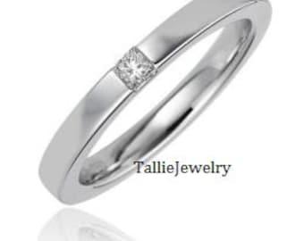 Platinum Diamond Wedding Rings, Princess Cut Diamond Wedding Bands, Platinum Womens Diamond Wedding Rings, Platinum Diamond Wedding Bands