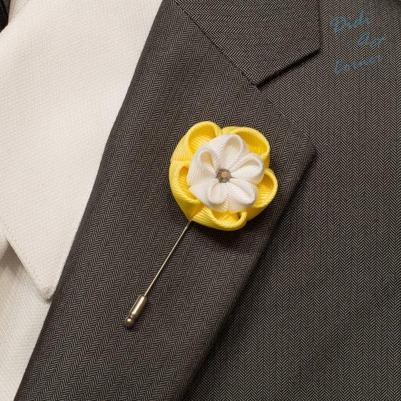 Boutonniere Herren Ansteckblume Revers Blume lapel pin Klee