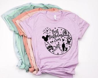 341ae615b Disney birthday shirt
