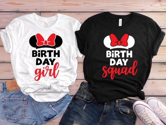 Disney Birthday Shirts Disney Matching Shirts Disney | Etsy