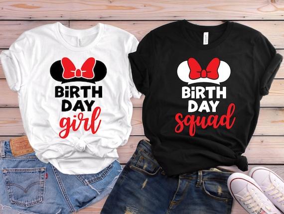 Disney Birthday Shirts Matching