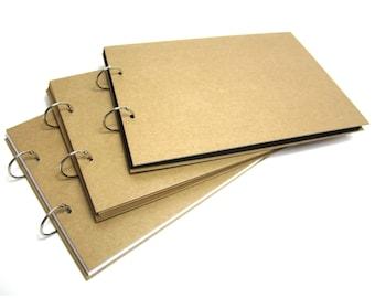 A3/A4/A5 Refillable Binding Ring Scrapbook, Photo Album, Guest Book, Display