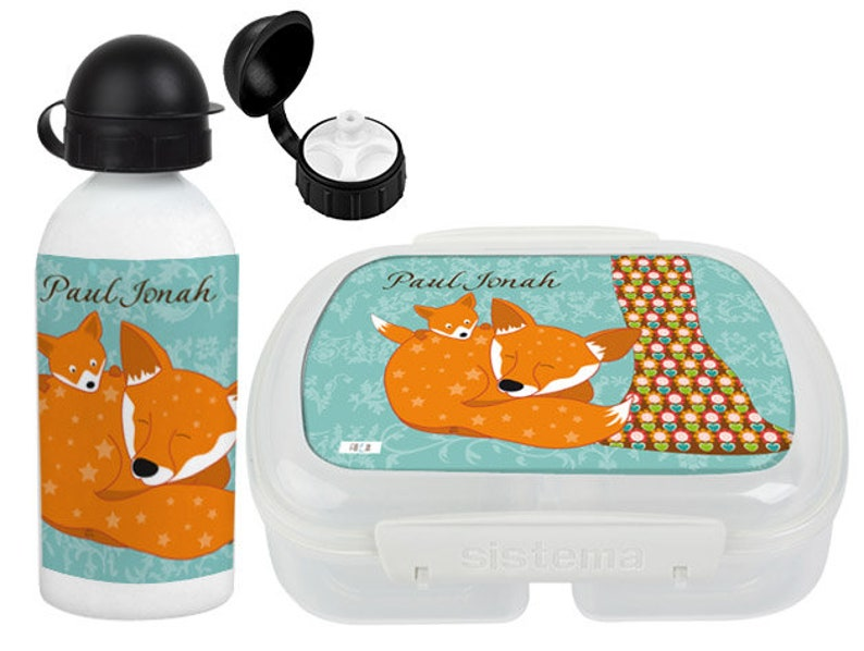 high-quality children's kit with drinking bottle and can image 0