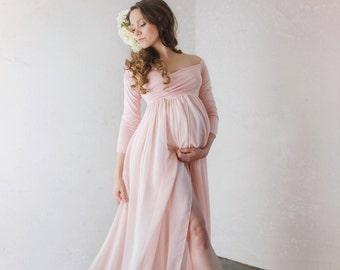 Sheer Maternity Dresses