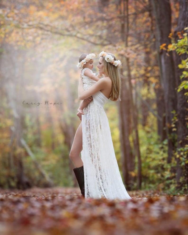 5fac996bd Tiffany Gown • Lace Maternity Dress • Maternity Gown • Maxi Dress • Senior  Photo Shoot • Bridesmaid Dress