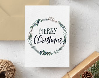 Etsy Christmas Cards.5x7 Etsy