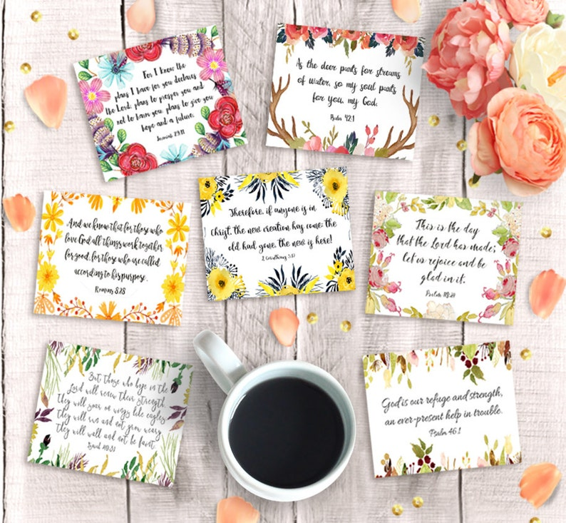 graphic about Bible Verse Cards Printable known as Bible Verse Playing cards - Printable 3\