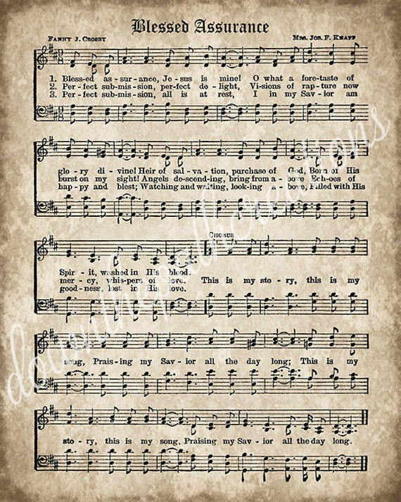 photo regarding Vintage Sheet Music Printable called Fortunate Self confidence Print, Printable Traditional Sheet Songs, Instantaneous Obtain, Antique Hymn, Inspirational, Sbook Collage, Christian Artwork