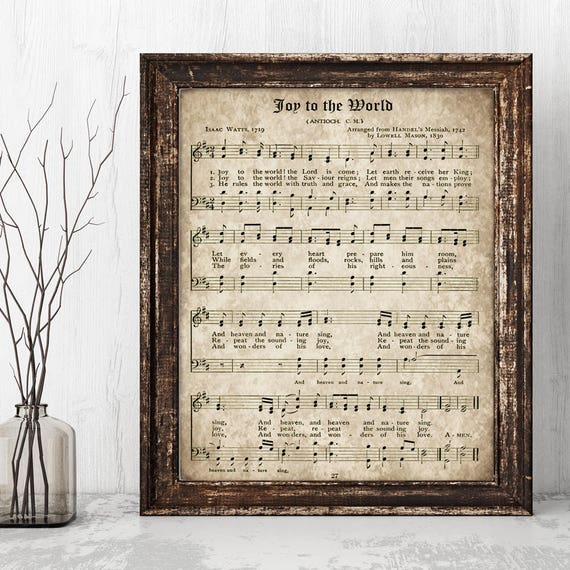 photo relating to Printable Christmas Sheet Music referred to as Pleasure in direction of the Global, Printable Xmas Hymn, Classic Carol, Quick Obtain, Previous Antique Sheet Tunes, Farmhouse Decor, Hymnal Webpage Print