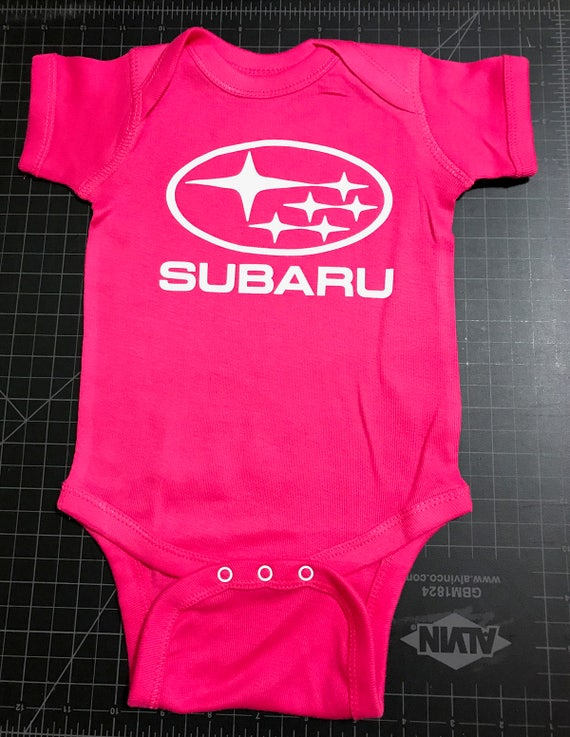 My Daddy Drives A Subaru New Personalized Baby Boys Girls T-shirt Clothing