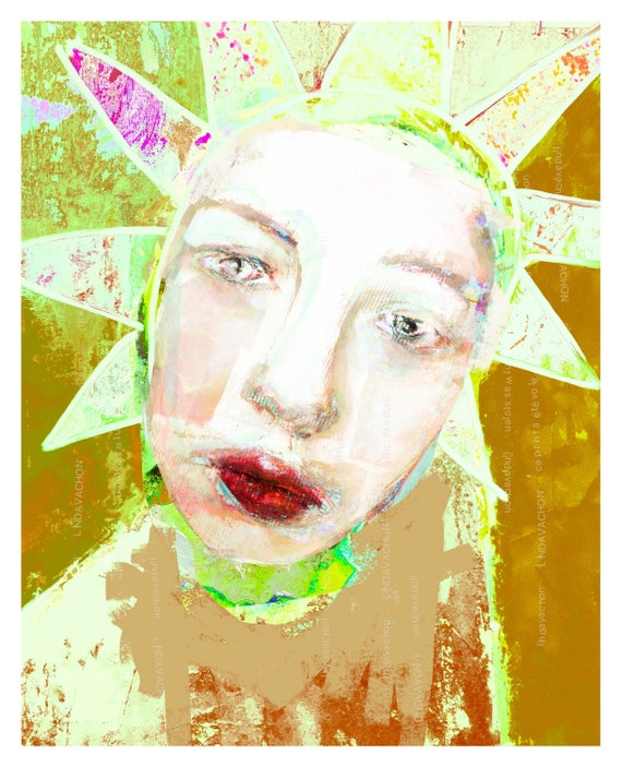 Urban, contemporary, print, linda v
