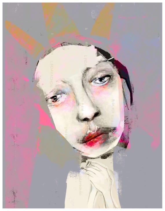 fine art print, linda v