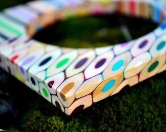 Colored pencils bracelet