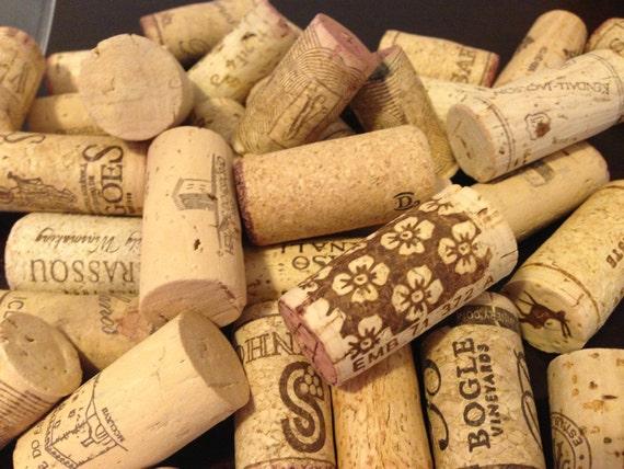 Assorted Lot Of 10 Salvaged Natural Wine Corks Vase Filler Etsy