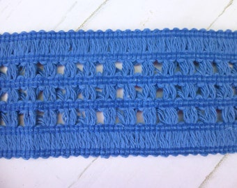Wide Blue Trim