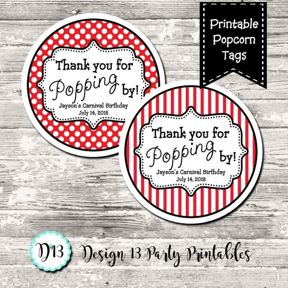 Handy image intended for thanks for popping in free printable