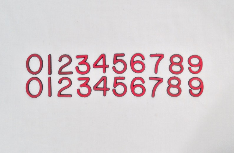 Number Magnets Industrial Numbers Warehouse Marquee Etsy