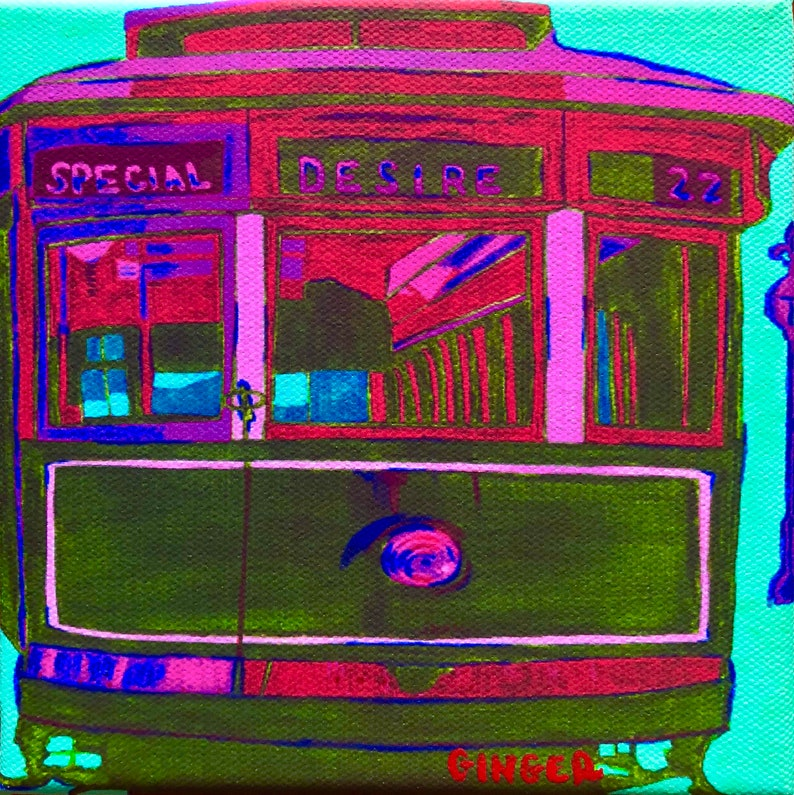 Streetcar Named Desire Portrait by French Quarter Artist image 0