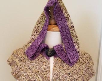 Highland Moor Crochet Capelet