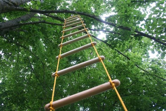 \u00e9chelle de corde, 1-10 m strickleiter 3-30 feet 10 25 cm handmade tree house ladder rope ladder 0.8 feet touwladder long wide
