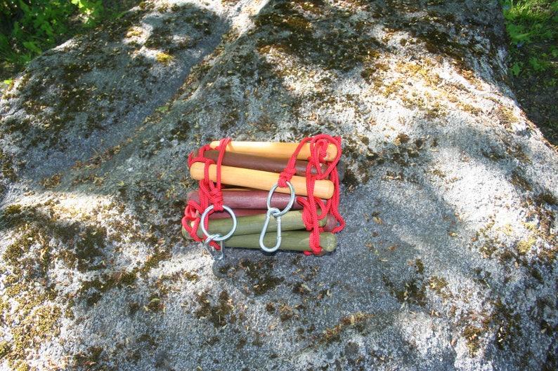 touwladder strickleiter handmade tree house ladder \u00e9chelle de corde, wide 3-30 feet climbing rope ladder 0.75 feet 23 cm long 1-10 m