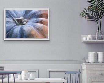 Pumpkin Photographic Print, Kitchen Wall Art Print, Dining Room Wall Art