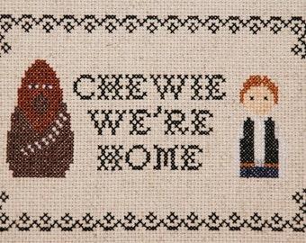 PATTERN: Chewie, We're Home