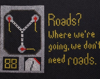 PATTERN FOR DOWNLOAD: Back to the Future Sampler