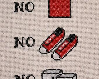 PATTERN: No Shirt, No Shoes, No DICE