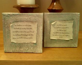 10 Commandments Painting