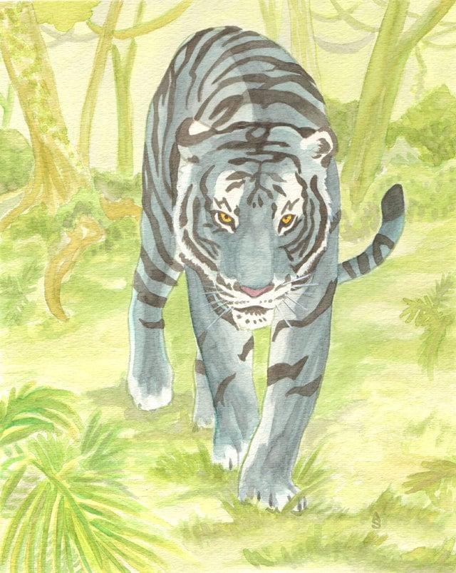 Malteser Tiger | Etsy