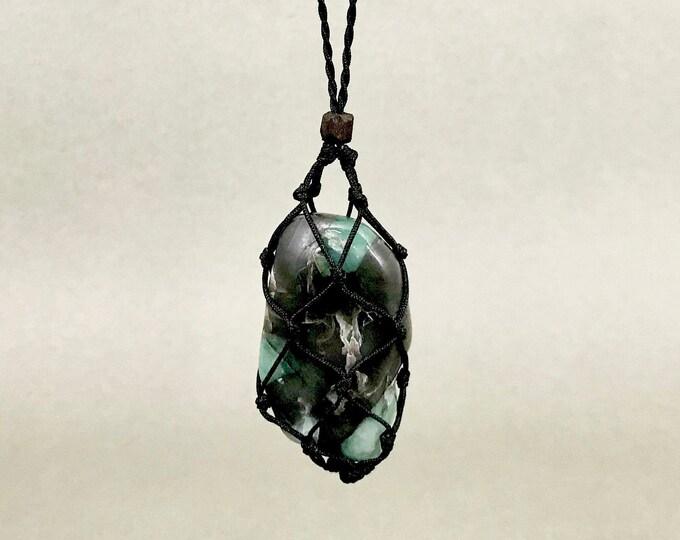 EMERALD Heart Chakra Energy Healing Necklace