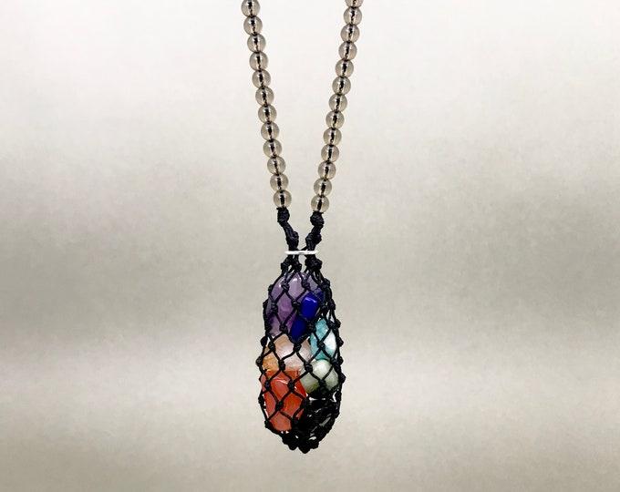 Chakra Crystal Energy Necklace